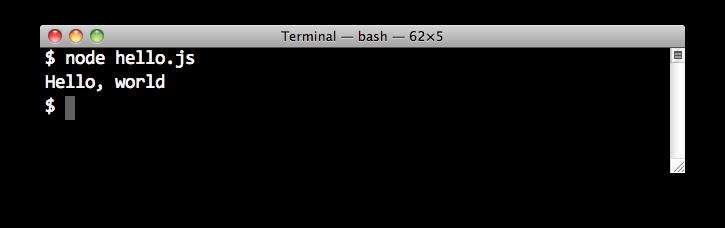Node.js 命令行程序开发教程